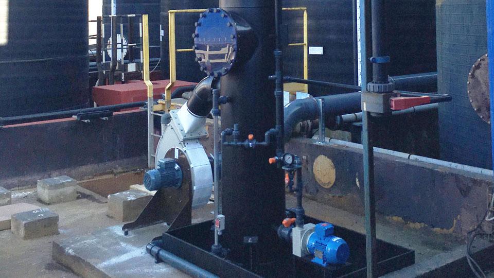 Chaudronnerie Plastique - Process : Réacteurs, Décanteurs, Laveurs