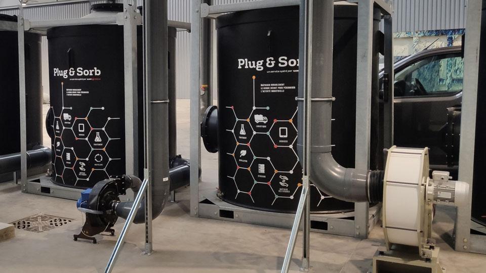 Chaudronnerie Plastique - Tuyauteries process, Gaines de ventilation