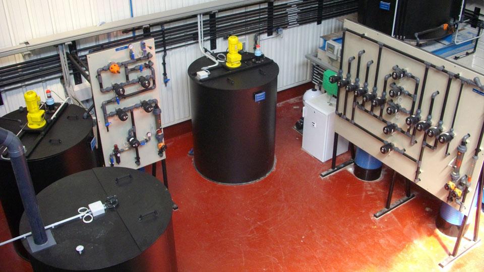 La chaudronnerie plastique au service du traitement de l'eau
